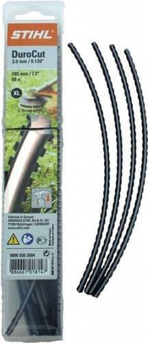 Genuine Stihl DuroCut 20-2 and 40-4 Size XL, 3mm Serrated 48 Line pcs per Packet 0000 930 3504