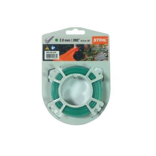 Genuine Stihl Trimmer line ROUND (GREEN) 2.0mm x 15.3M Product Code 0000 930 2335