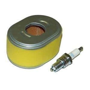Honda GX110 and GX120 Part Service Kit (Air Filter and Spark Plug)