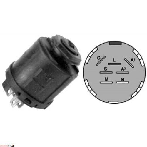 Stiga Ignition Switch Suitable for Stiga Park / Stiga Park Pro  Replaces Part Number 1134 4093 01