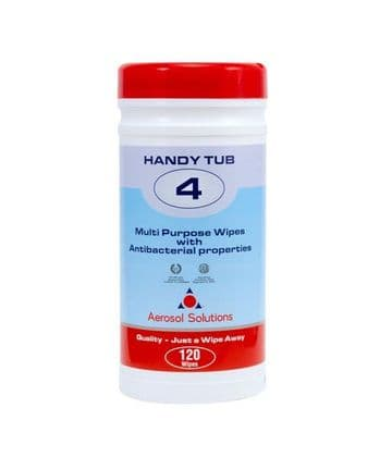 Handy Wipes for Surfaces 4 (120 sheets)