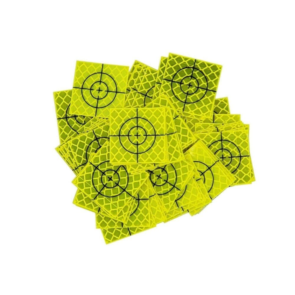 Reflective Targets 25mm x 25mm