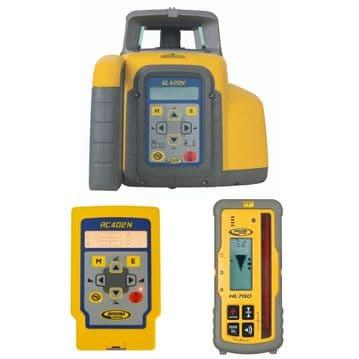 Spectra Precision GL422N Grade Laser with RC402N Remote & HL760 Receiver Kit