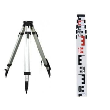 TRIPOD AND 5m5s STAFF PACKAGE