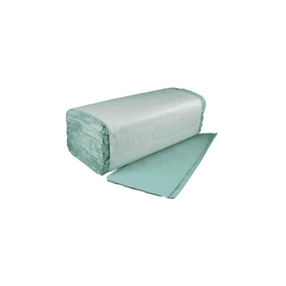 V Interfold Paper Hand Towels x 5000 Green