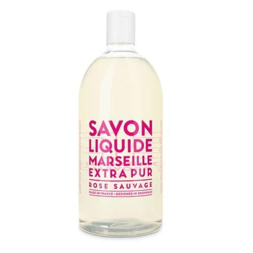 COMPAGNIE DE PROVENCE EXTRA PUR LIQUID SOAP WILD ROSE 1L REFILL