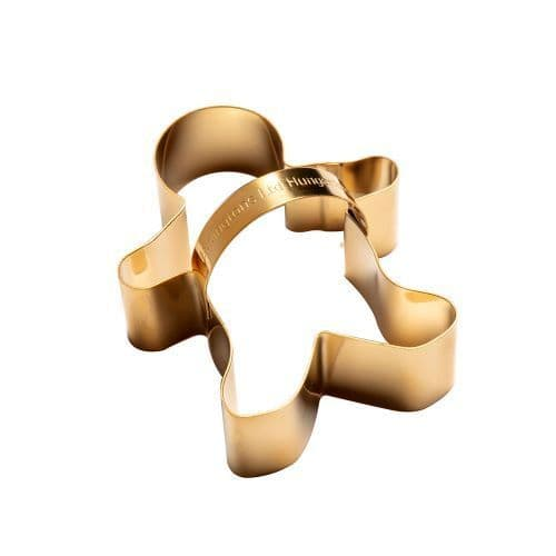 GINGERBREAD MAN COOKIE CUTTER BRASS