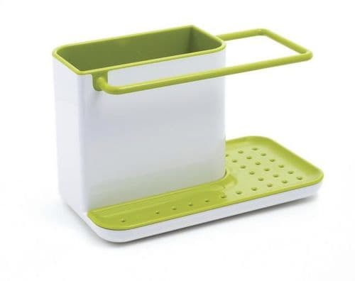 JOSEPH CADDY SINK ORGANIZER WHITE/GREEN