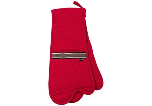 LADELLE RED DOUBLE OVEN MITT