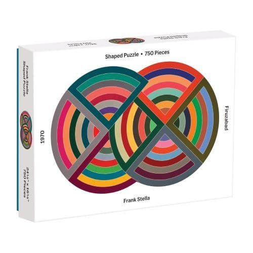 MOMA FRANK STELLA 750 pc SHAPED PUZZLE
