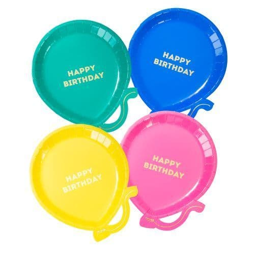RAINBOW BRIGHTS PAPER PLATES   12 PACK