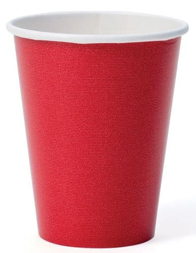 RED GROS GRAIN CUP