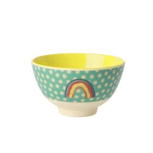 RICE BOWL SMALL RAINBOW STARS MELAMINE