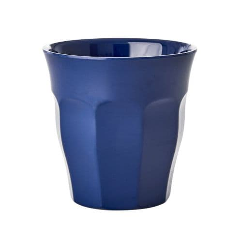 RICE CUP MEDIUM NAVY BLUE MELAMINE