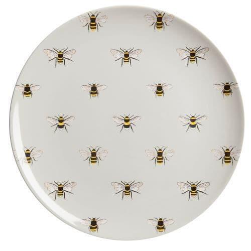 SOPHIE ALLPORT MELAMINE DINNER PLATE BEES