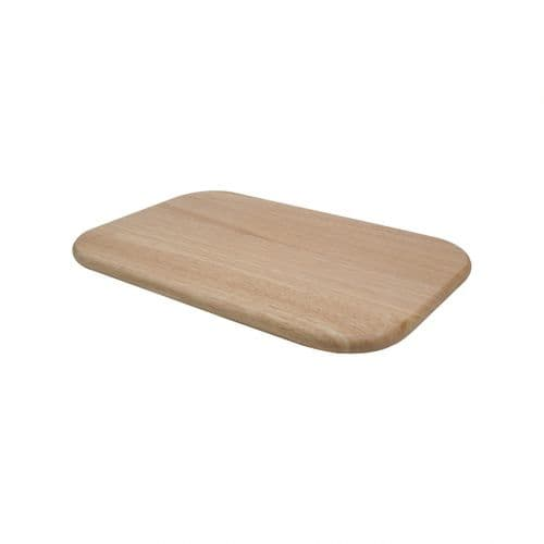 T&G LARGE RECTANGLE CHOPPING BOARD HEVEA