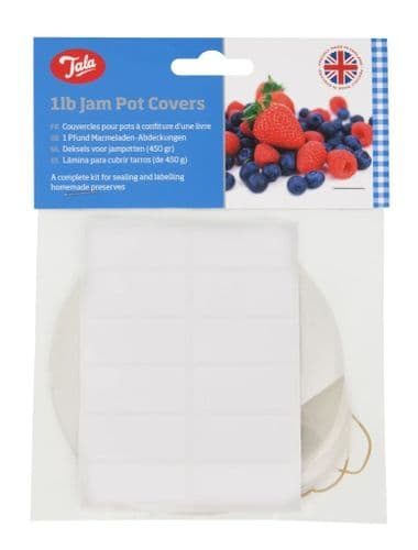 TALA JAM POT COVERS 1LB (PK24)