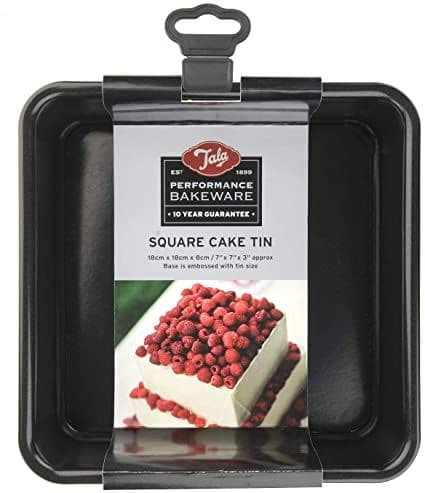 TALA PERFORMANCE 18CM SQUARE CAKE TIN