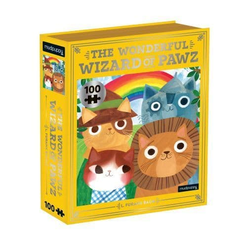 THE WONDERFUL WIZARD OF PAWZ BOOKISH CATS 1000 pc PUZZLE