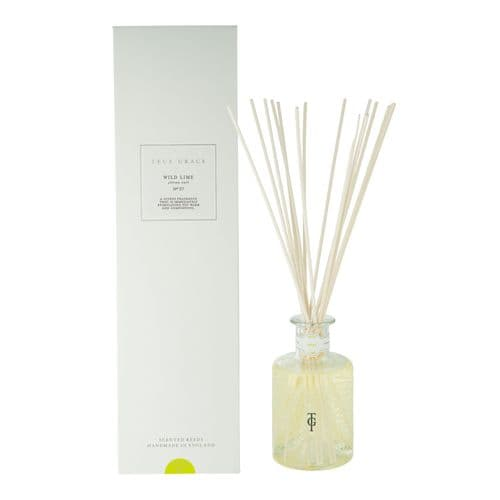 TRUE GRACE VILLAGE SCENTED REEDS ROOM DIFFUSER WILD LIME