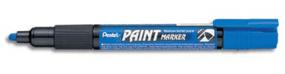 Blue Pentel Permanent bullet tip paint marker MMP20