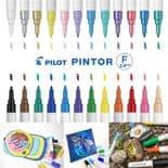 Fine Pilot Pintor Paint Markers