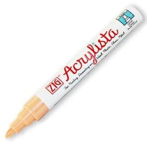 Honeysuckle Zig Acrylista 6mm chisel tip paint marker