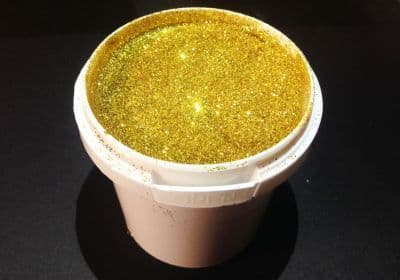 Glitter Gold Waterbased Ink