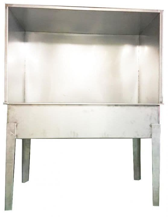 Washout Booth Stainless Steel XL