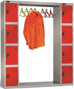 Cloakroom Units for Probe Lockers