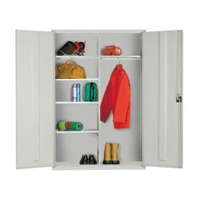 Extra Wide Clothing & Equipment Cupboard