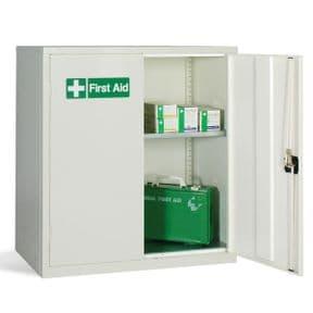 First Aid Double Door Cabinet - 1 Shelf