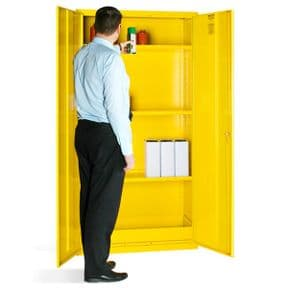 Hazardous Substance Cabinet - 3 Shelves