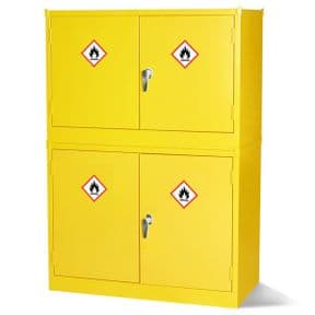 Hazardous Substance Stackable Cabinet - 1 Shelf
