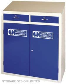 PPE Double Drawer Workstation