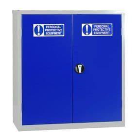 PPE Small Double Cabinet - 1 Shelf