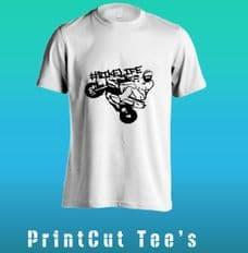 #BikeLife Wheelie Tee