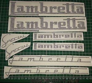 Assorted Lambretta Decals/Stickers