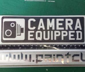Camera Equipped Sticker Dashcam, Go Pro Etc