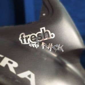 Fresh As F#CK Sticker/ Decal Car, Van, Bike, Scooter,