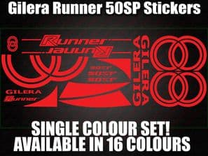 Gilera Runner 50 SP Large Decals/Stickers 50 70 125 172 183 210