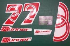 Gilera Runner 7's Decals/Stickers SP, FX, FXR, VX, VXR, ST,