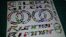 Gilera Runner Decals/Stickers EXCLUSIVE Sticker Bomb DESIGN sp vx fx vxr 125 172