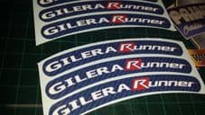 Gilera Runner Rim tape Wheel stickers EXCLUSIVE 50, 125. 172, 180 183 sp vx st A
