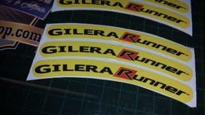 Gilera Runner Rim tape Wheel stickers EXCLUSIVE 50, 125. 172, 180 183 sp vx st C