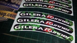 Gilera Runner Rim tape Wheel stickers EXCLUSIVE 50, 125. 172, 180 183 sp vx st L
