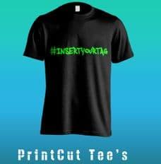 Hashtag Custom Tee