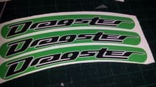 Italjet Dragster Rim tape Wheel stickers EXCLUSIVE 50 70 125 172 180 183 Style A