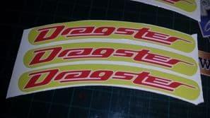 Italjet Dragster Rim tape Wheel stickers EXCLUSIVE 50 70 125 172 180 183 Style E