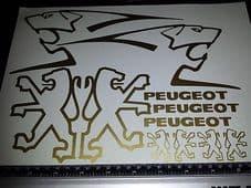Peugeot Decals/Stickers Speedfight Speedake Trekker buxy